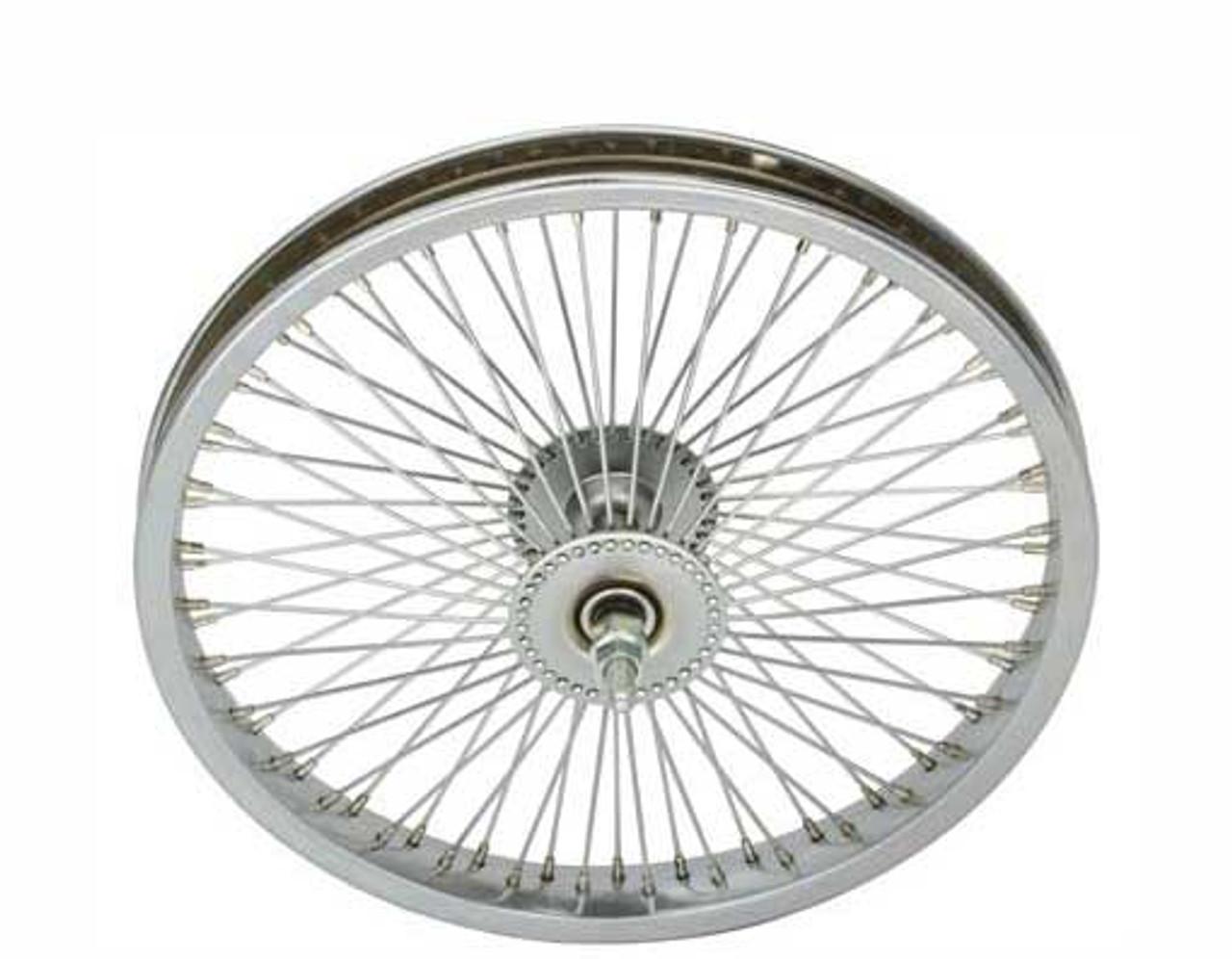 72 Spoke Front 16 Chrome Lowrider Wheels 72 Spoke Front 16