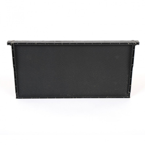 Plastic Deep Frame - Black 10pk