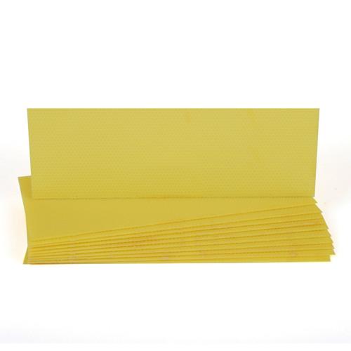 Plastic Medium Foundation - Yellow 10pk