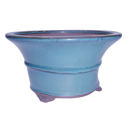 Glazed Round Container - CGR6-4.5