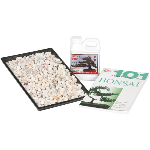 "Bonsai Starter Success Kit With 8"" Humidity Tray - SPCOMBO1"