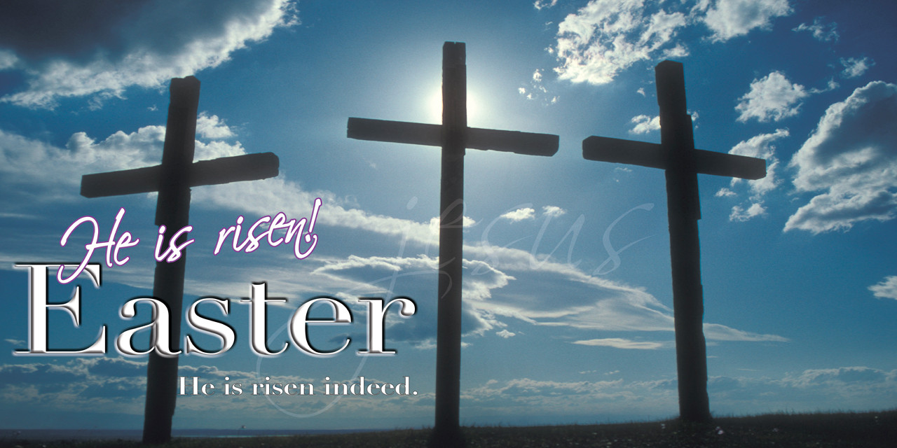 Easter Church Banners & Hardware | Banners4Churches.com