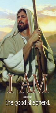 Church Banner I AM V118