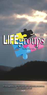 Church Banner Life Groups & Theme V106