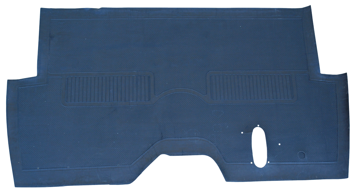 55 59 Chevrolet Gmc Oe Style Rubber Floor Mat Key