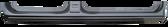 2009-2014 Ford F-150, crew cab, rocker panel, RH