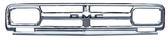 1967 GMC pickup grille with GMC lettering (GM Licensed product)