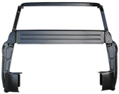 """1955-1959 Chevrolet and GMC inner cab back complete with """"B"""" pillars and inner cab corners"""