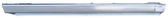 1983-1992 Volvo 740/760 driver's side rocker panel