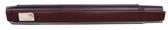 1978-1982 Ford Courier and Mazda B-Series pickup rocker panel, driver's side