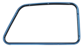 1947-1950 Chevrolet and GMC truck inner window frame, passenger's side