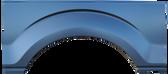 2009-2014 F150 rear upper wheel arch, w/molding holes, passenger's side