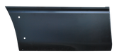 2004-2014 F150 front lower quarter panel section for 6.5' bed, with molding holes, passenger's side