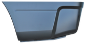 """2009-2017 RAM P/U rear lower bed section for 96"""" bed, driver's side"""