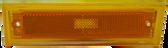 1981-1987 CHEVROLET/GMC PICKUP FRONT SIDE MARKER, DRIVER'S SIDE, W/O TRIM