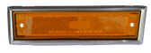 1981-1987 Chevrolet/GMC pickup front sidemarker, with trim, driver's side