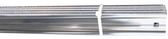 1960-1966 Chevrolet and GMC Fleetside pickup polished stainless steel bed strip set
