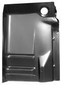 '88-'98 COMPLETE CAB FLOOR PAN SECTION (INNER/OUTER WITH BACK PLATE) PASSENGER'S SIDE