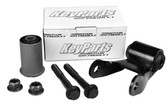 '88-'07 CHEVY/GMC REAR LEAF SPRING SHACKLE KIT