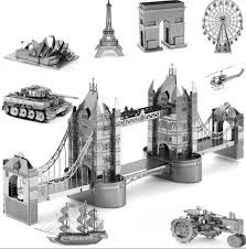 Collage - Metal Earth Puzzles