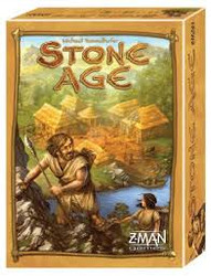 Players struggle to survive the Stone Age by working as hunters, collectors, farmers and tool makers. As you gather resources and grow your population, you work to build the tools needed to build and sustain your civilization.  2-4 players     10+     60-90 min