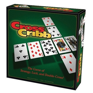 The exciting strategy game that uses conventional cribbage scoring rules as you try to build five high scoring cribbage hands while simultaneously sabotaging your opponents hand.  1-6 players     8+     45 min
