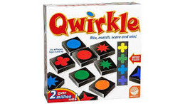 This great family game has players scoring points by laying their tiles to form lines by matching either shapes or colors.  2-4 players     6+     45 min
