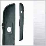 Black padded cue case with handle will hold 1 butt and 1 shaft standard pool or snooker cue