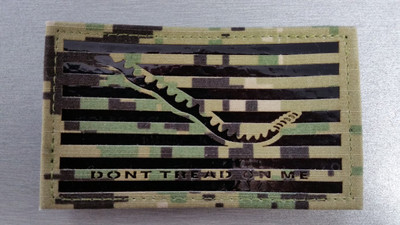 Don't Tread On Me IR Patch