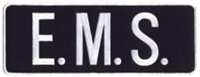 """EMS Back Patch 9x3"""""""
