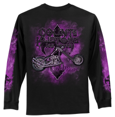 Purple Haze Men's Long Sleeve Tee