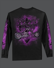 Purple Haze Women's Long Sleeve Tee