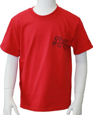 Kids Kross Tee - Red