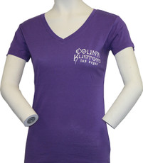 Women's Slim Fit Kross Tee - Purple