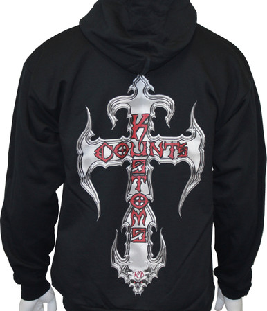 Counts Kustoms Zip-Up Logo Hoodie