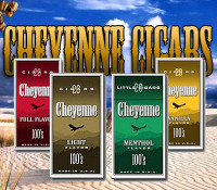 Cheyenne filtered little cigars 100's