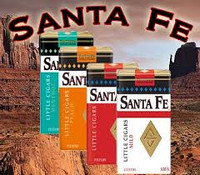 Santa Fe filtered little cigars 100's