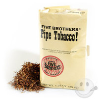 Five Brothers pipe tobacco 5 count poches