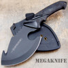 "10"" Fixed Blade Tactical Survival Axe Hunting Knife Hatchet Skinner Camping"