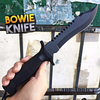 """12"""" CSGO Hunting Military Survival Combat Fixed Blade BOWIE Knife w/ Sheath"""