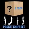 Mystery Lot - 4 Pack Lot Pocket Knives
