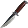 "10"" Full Tang Wood Fixed Blade Knife Hunting Skinning Survival Army Bowie Blade"