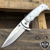 "7"" TAC FORCE PEARL Tactical Spring Assisted Open FOLDING BLADE Pocket Knife NEW"