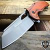 "8"" TAC FORCE TITANIUM Tactical Spring Assisted Open FOLDING Pocket Knife Wood"