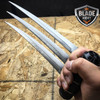 "12"" Hunting Wolverine Claw XMEN Cosplay Knife"