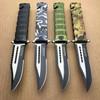 4PC Hunting Jungle Sawback Spring Assisted Pocket Knife