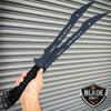 """27"""" NINJA SAMURAI Twin Blade MARTIAL ARTS SWORDS Katana Japanese Combat NEW"""