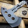 "10"" SURVIVAL TOMAHAWK TACTICAL THROWING AXE w/ SHEATH BATTLE Hatchet Knife Hawk"