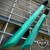 "27"" & 18"" NINJA GREEN SWORD SET Samurai Machete COMBAT FANTASY KNIFE Sheath NEW!"