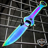 "7.5"" MULTI-TOOL WRENCH TACTICAL SPRING ASSISTED FOLDING POCKET KNIFE RAINBOW EDC"